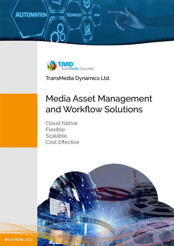 TMD TransMedia Dynamics Brochure